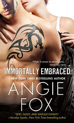 February 2013 by St. Martins            Immortally Embraced (Monster M*A*S*H #2) by Angie Fox