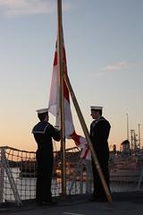 HMS ARGYLL at Belgian Navy Days 2012