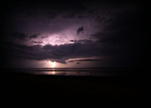 lightning over sandy neck by lucy.loomis