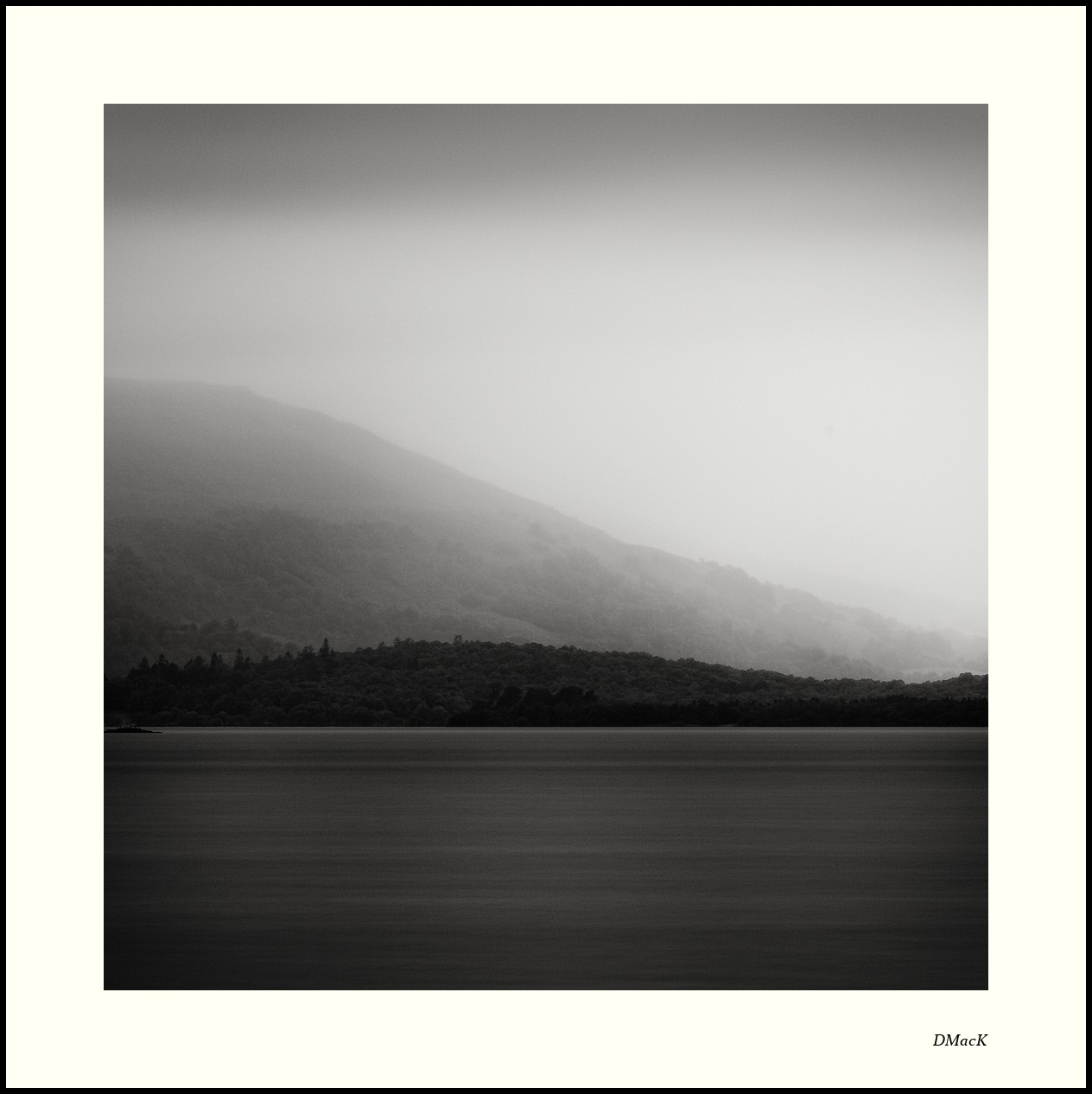 Loch Lomond Morning with a Vari ND