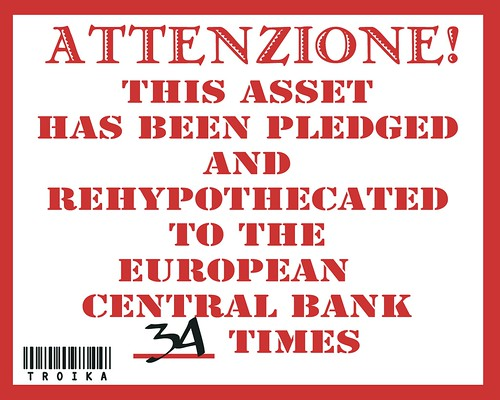 ECB NOTICE OF PLEDGE by Colonel Flick