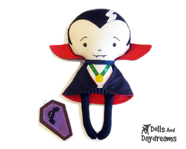 Vampire Dracula sewing pattern