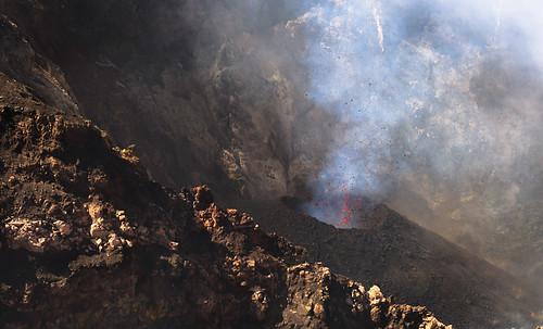 無料写真素材, 自然風景, 山, 災害, 火山, 噴火, 風景  イタリア, エトナ火山