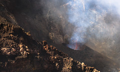 [Free Images] Nature, Mountain, Disaster, Volcano, Eruption, Landscape - Italy, Mount Etna ID:201208061800