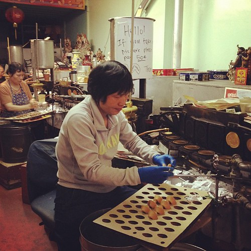 Golden Gate Fortune Cookie Factory Worker