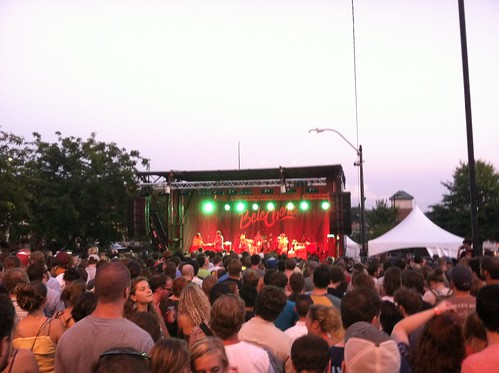 Huge crowd for Dr. Dog