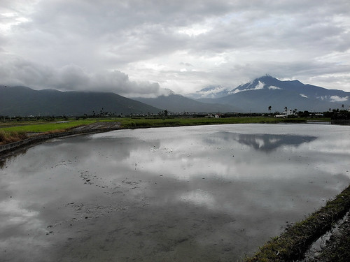 View of Hualien's Mountains from Road 193