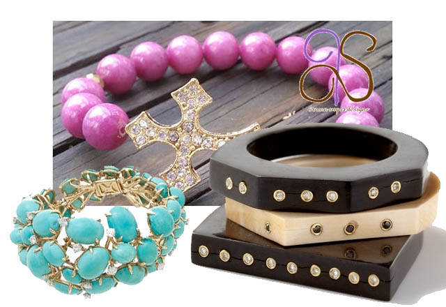 jewelry concierge, bracelets, fair vanity fair trade, style challenge, giveaway, arm candy