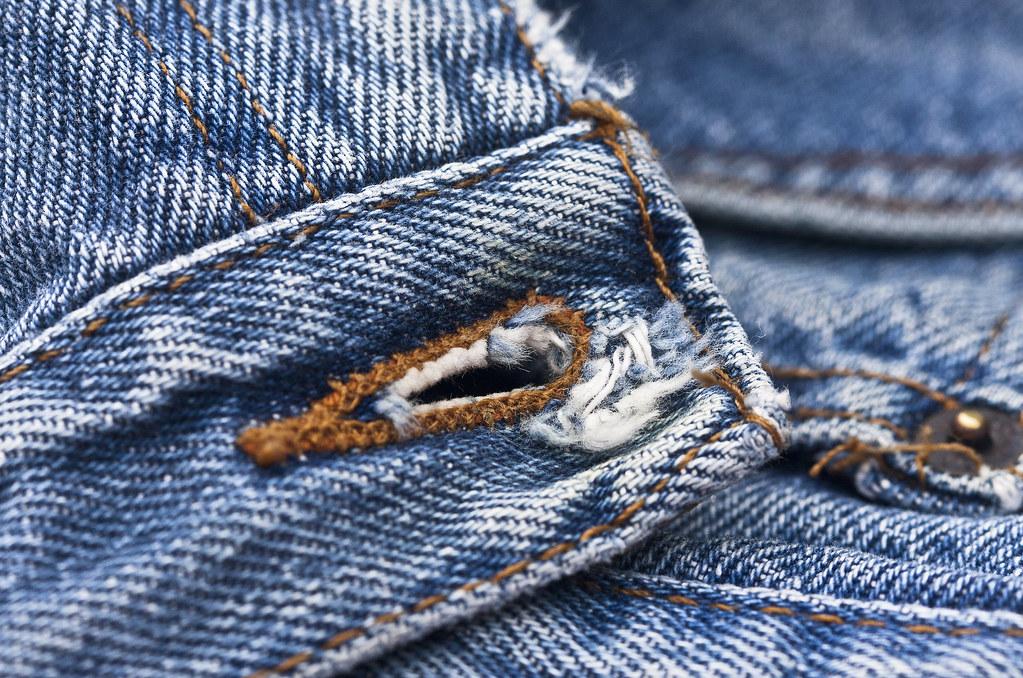 jeans buttonhole