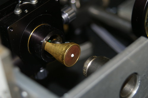 Fibre collimator, holder and lens by Manuel Jorge Marques