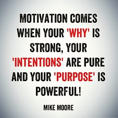 When you have a powerful enough 'why' you'll figure out how! #moorethoughts #successquotes #leadership