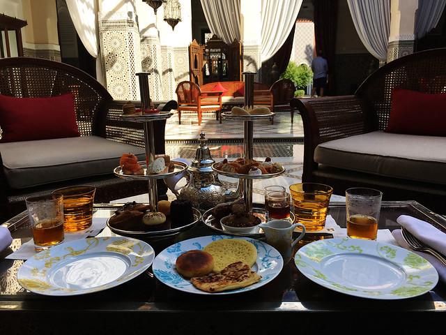 Tea at Royal Mansour