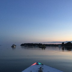 It was a perfect night to be on the water #Maine #mainelife
