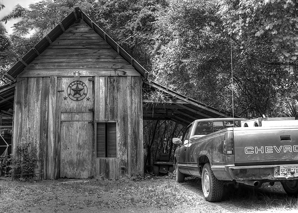 Day 163: Just An Old Barn and Truck