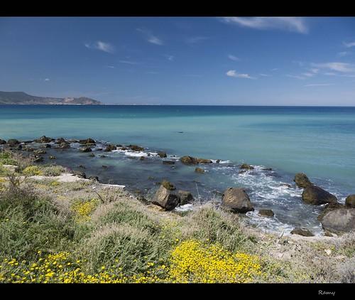 mer primavera beach algeria spring playa algerie oran argelia pringtemps ainfranine