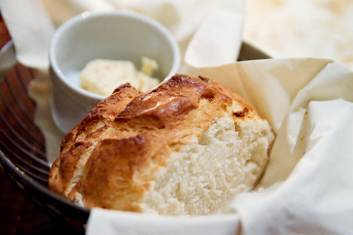 Great biscuit-like bread and butter