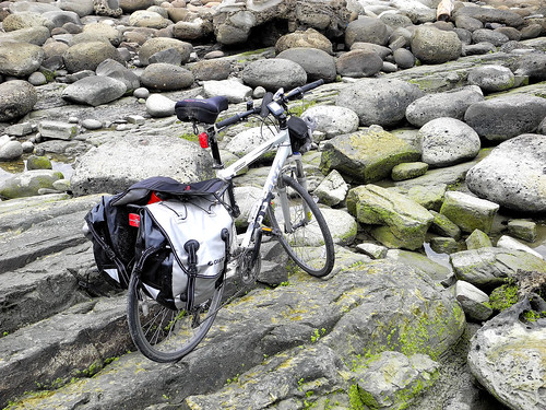 Bike on the Rocks