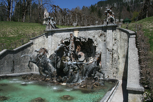 Neptunbrunnen - Schloß Linderhof