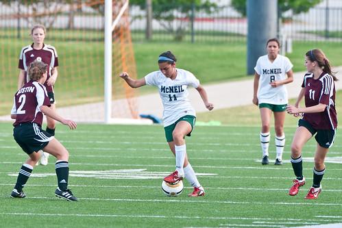 McNeil girls soccer vs Austin High 2Apr2012 b_9786 by 2HPix.com - Henry Huey