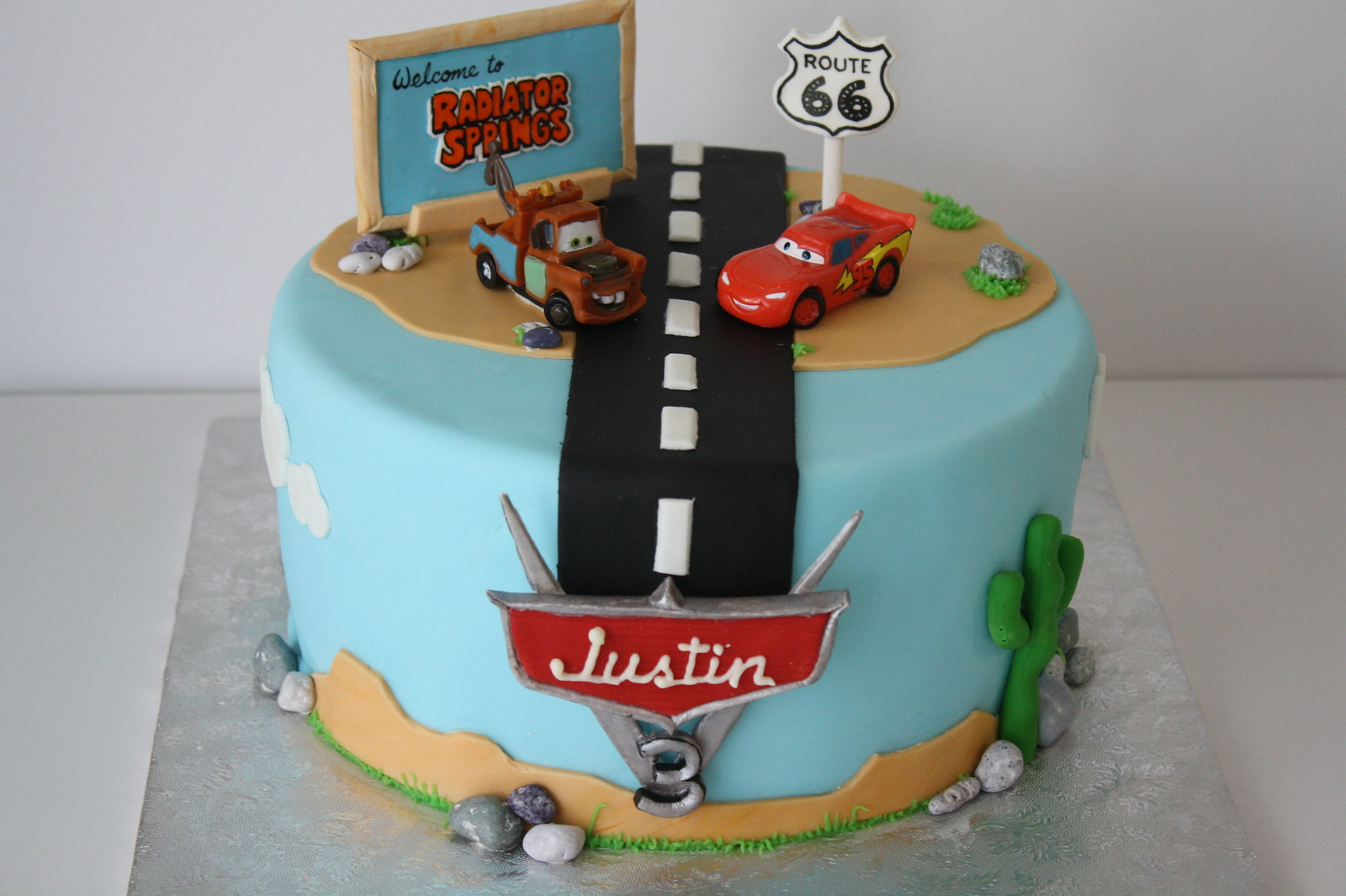Coolest Tow Mater From Cars Cake Ideas Pictures