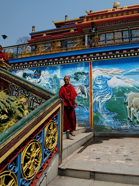Lingdum Monastery in Sikkim