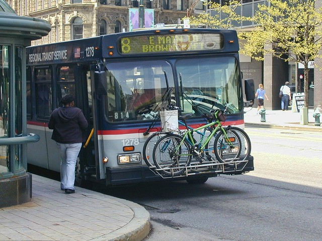 Bikes and Buses, Rochester NY