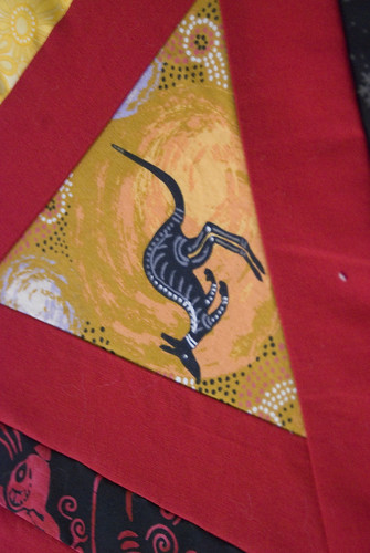 Every red quilt needs a 'roo