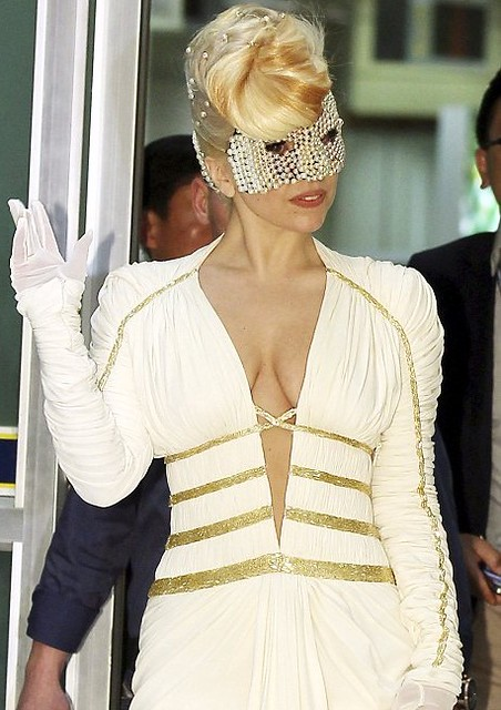 Lady Gaga In Seoul born this way ball