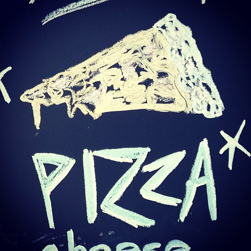 Spritzenhaus German Pizza #chalkboard #sign #greenpoint #Brooklyn #pizza #food