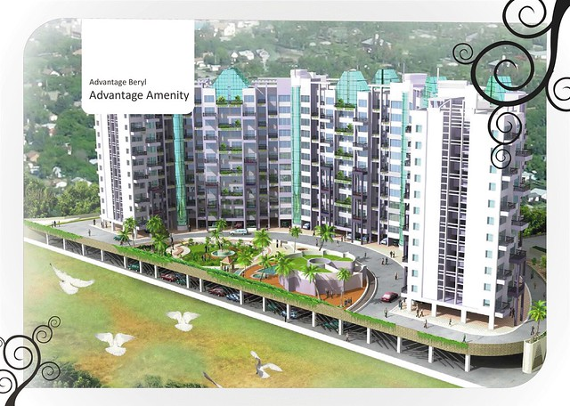 Kolte-Patil Beryl 3 BHK Flats  - 1555 saleable Rs. 78.8 Lakh Onward & 1715 Saleable Rs. 86.3 Lakh Onward -  at Kharadi Pune 411 014 - 11