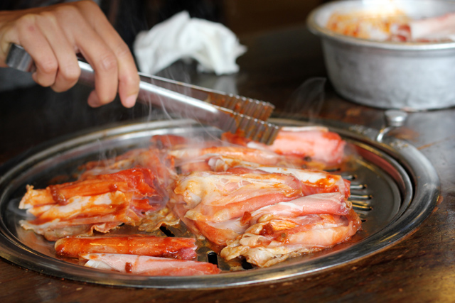 Delicious Korean Barbecue in Seoul, South Korea