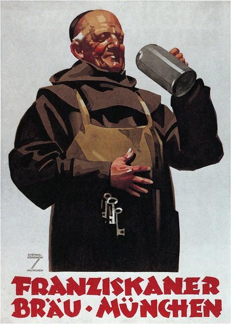 Franziskaner bier, Munich (1935)