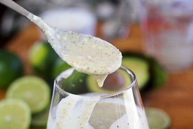 Lime, Ginger and Coconut Smoothie
