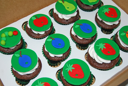 Cupcakes for a Very Hungry Caterpillar