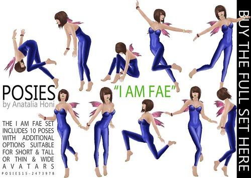 POSIES - 18 I Am Fae by Anatalia Honi(POSIES)