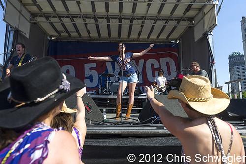 Katie Armiger - 06-09-12 - WYCD Downtown Hoedown 2012, Comerica Park, Detroit, MI