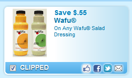 Wafu Salad Dressing  Coupon