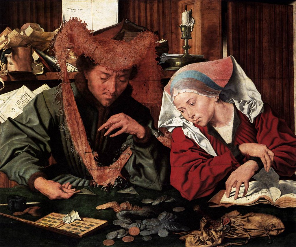 [ R ] Marinus van Reynerswaele - Moneylender and his Wife (1539)