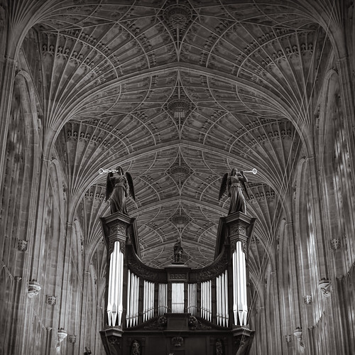 Church interior, Cambridge by KaraNagai