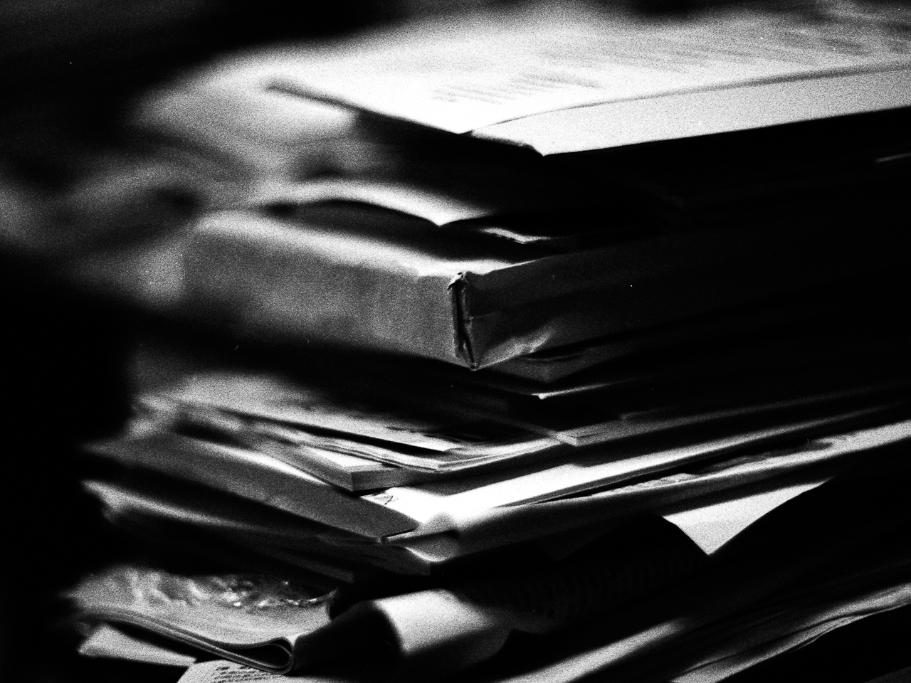 messy paperworks