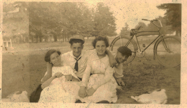Bike Couples RPPC