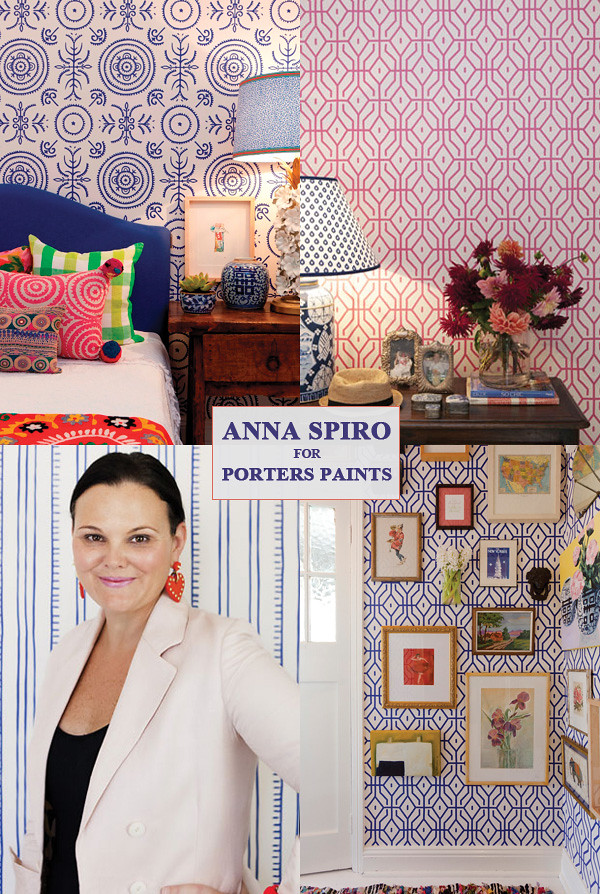 ... Anna Spiro wallpaper for Porter's Paints | by ishandchi