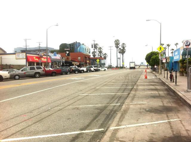 Venice Beach Parking Map
