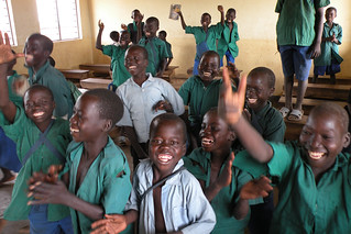 Education programs bring primary education to vulnerable and conflict-affected children in Uganda