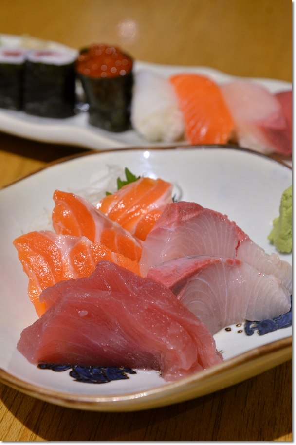 Thick Slices of Sashimi