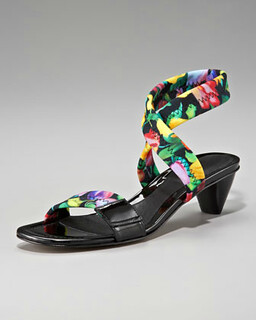 Donald J Pliner Floral-Print Sandal NM Retail $225 on sale for $150