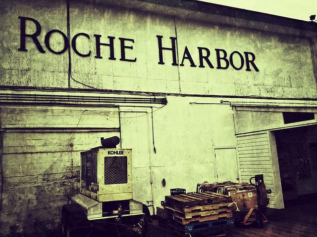 Roche harbor dock