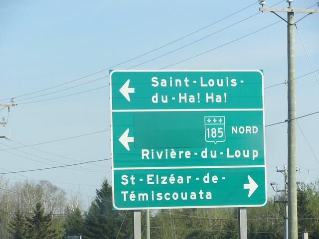 Great Québec Town Names