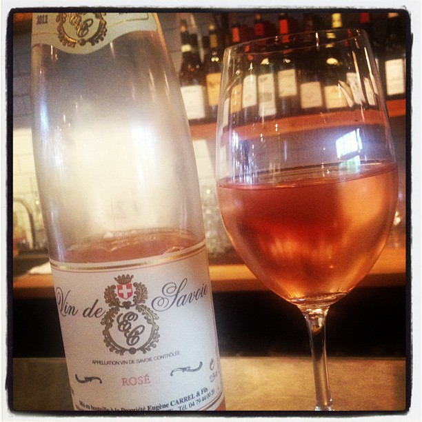 vin de savoie rose
