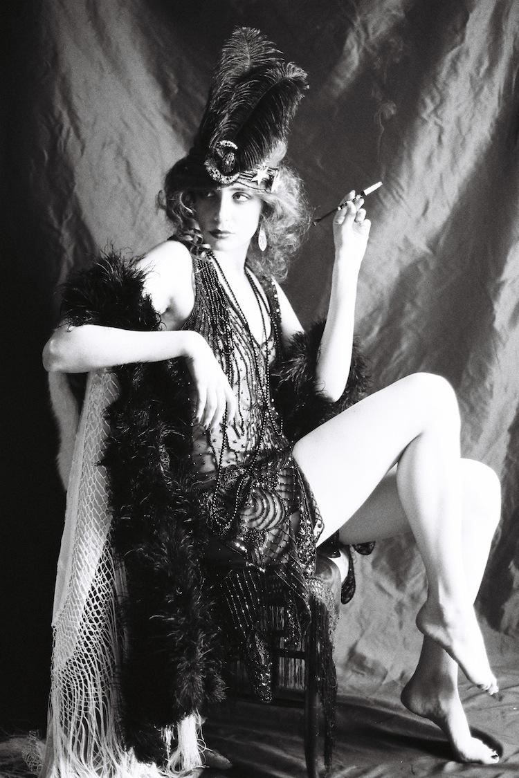 Louise Ebel Pandora Ziegfeld Girl.